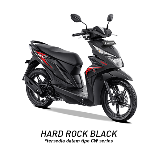 Honda BeAT 2019 Tipe CW Hard Rock Black